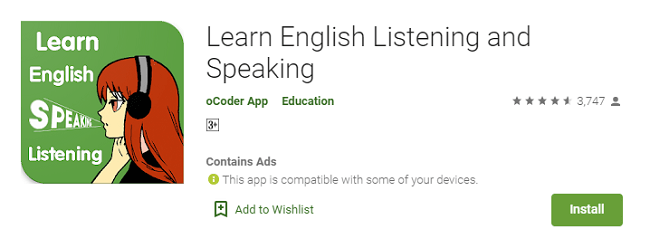 Learn English Listening and Speaking