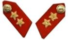 Major General Collar Patch